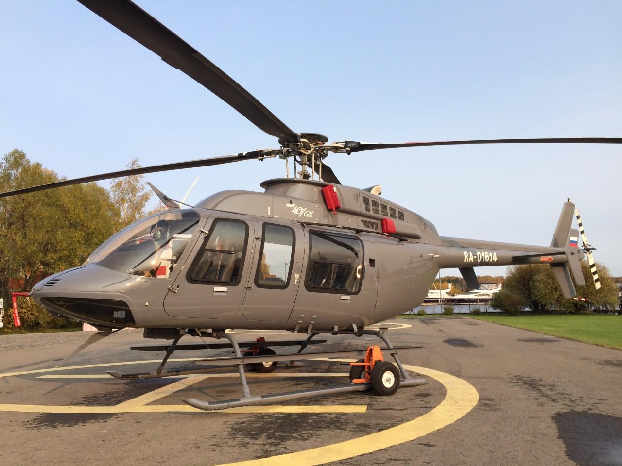 Купить вертолет цена на ресурсные вертолеты Bell Helicopter 407